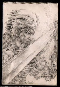 raiden-metal-gear-rising-cover-recreated-artwork